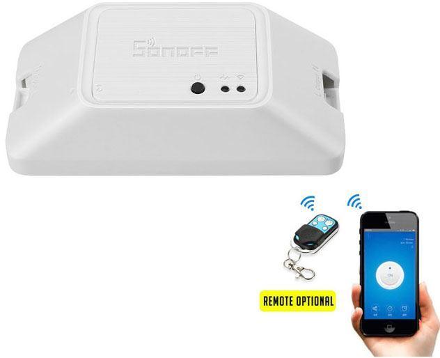 Spínač WiFi Sonoff Basic RFR3 230V/10A, napájení 90-260AC