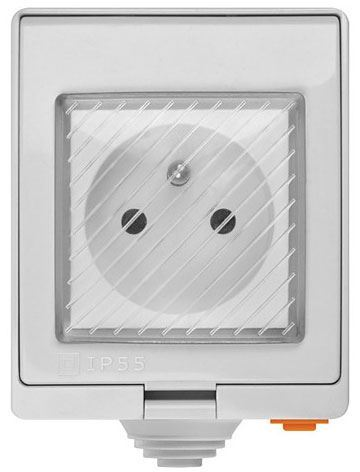 Sonoff S55TPE chytrá WiFi zásuvka venkovní IP55