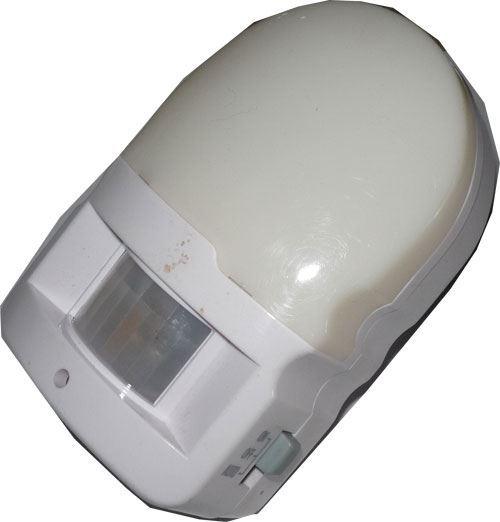Noční světlo s PIR čidlem do zásuvky 230V/7W, použité, vadné