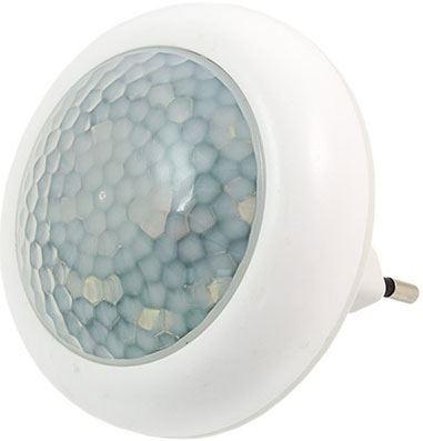Noční světlo LED s PIR čidlem do zásuvky, 230V/0,5W
