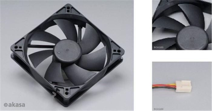 Ventilátor 120x120x25mm 12V 1200 ot/min