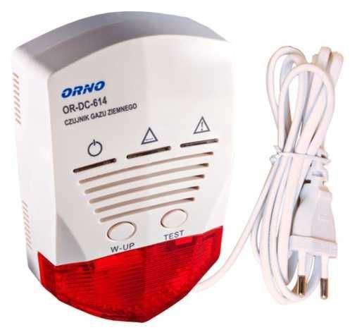 Detektor plynu ORNO OR-DC-614 pro zemní plyn a LPG