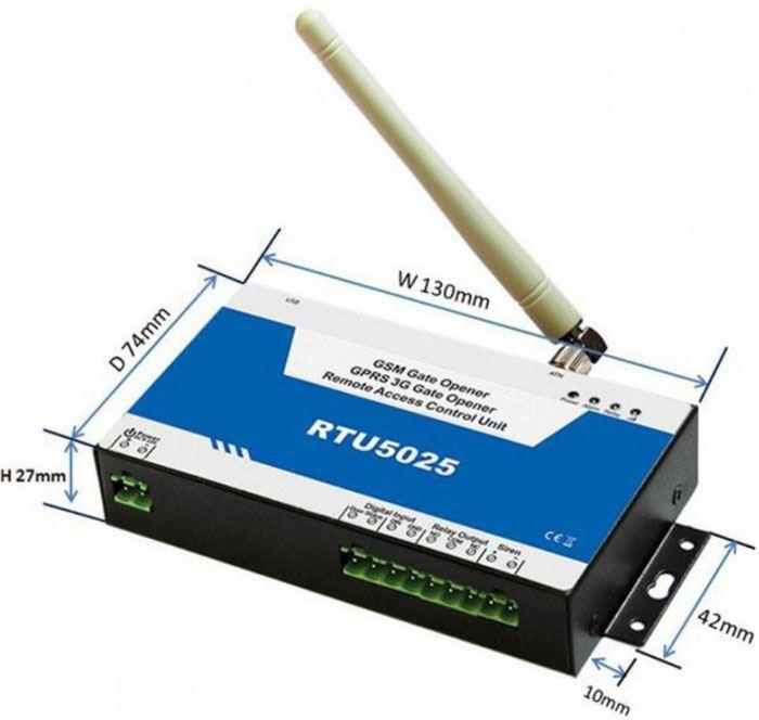GSM dálkové ovládání RTU5025