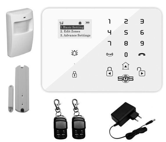 Bezdrátový GSM alarm King Pigeon K9