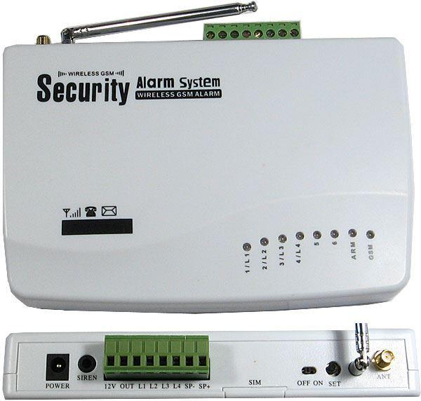 Bezdrátový alarm GSM-01. vadný, pouze základní jednotka