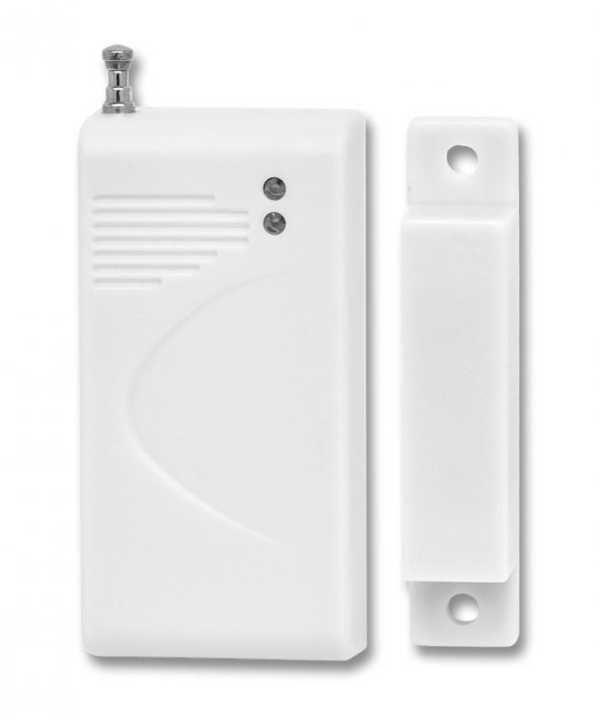Bezdrátový magnetický kontakt 433MHz pro alarmy a přijímače