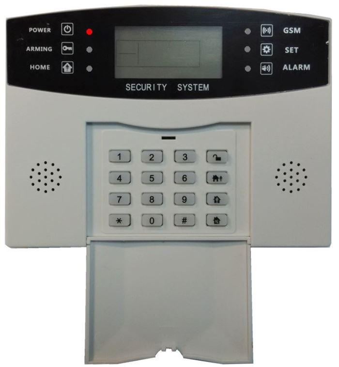 Bezdrátový alarm GSM-03 vadný, pouze základní jednotka, stará verze!