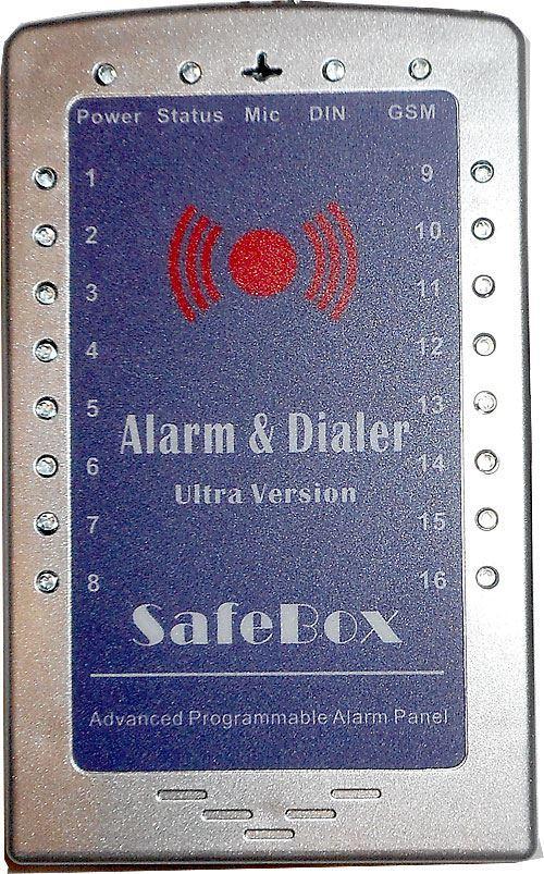 Bezdrátový GSM alarm King Pigeon S160, vadný, pouze základní jednotka