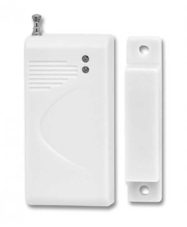 Bezdrátový magnetický kontakt 433MHz s možností volby kódu přenosu