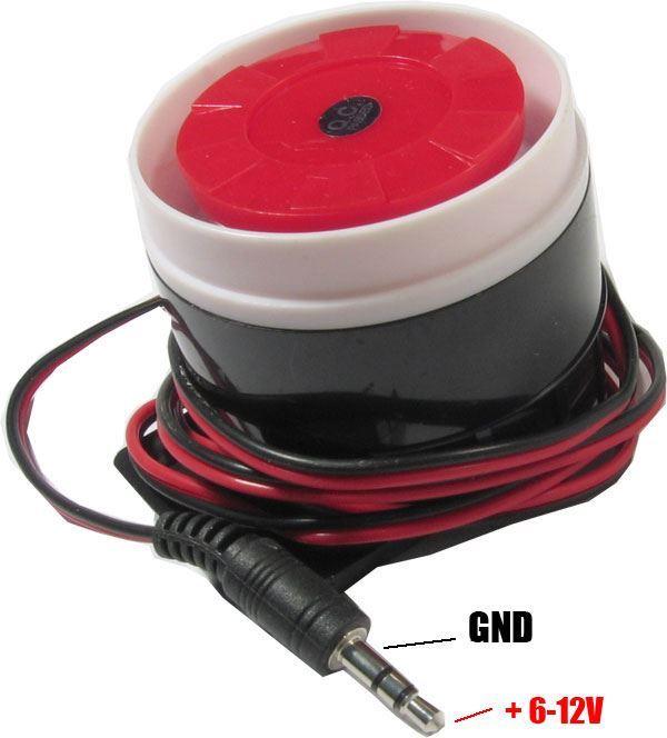 Siréna SR-01 6-12V pro alarmy GSM03, S110 a S160
