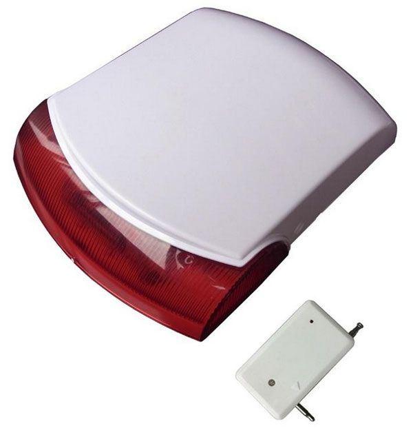 Venkovní zálohovaná siréna bezdrátová SR-10 pro alarmy S110 a S160