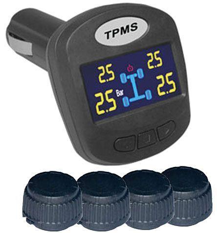 Monitorování tlaku v pneumatikách TPMS-403DIY