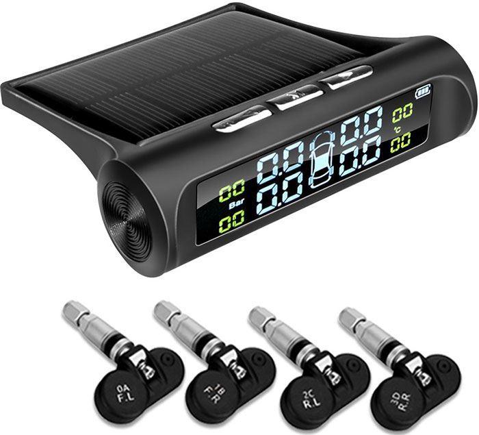 Monitorování tlaku v pneumatikách TPMS E-ACE K02, vnitřní senzory
