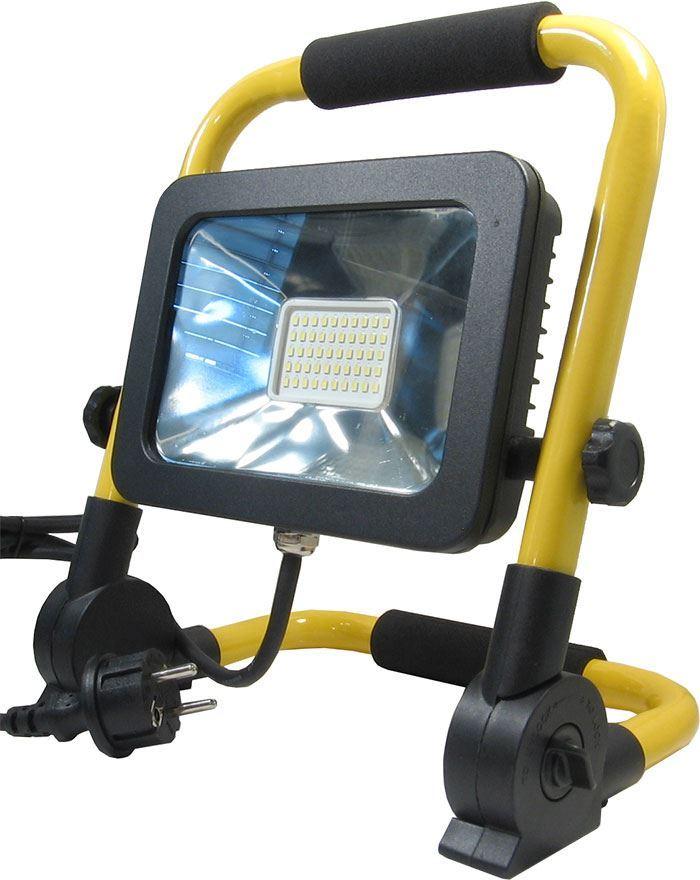 Přenosný reflektor LED 230V/20W přenosný /pracovní svítilna/