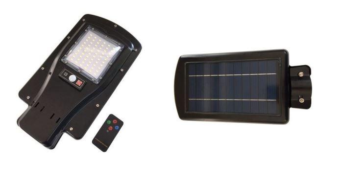 Pouliční solární svítidlo LED 30W