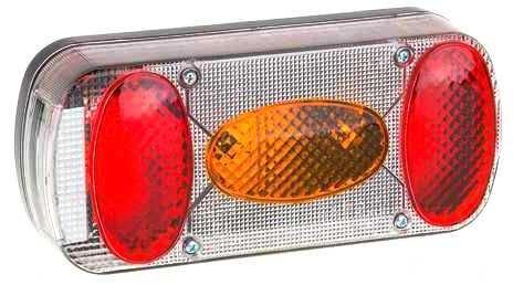 Koncové světlo sdružené pro přívěsy, levé, MD-036 - tuning