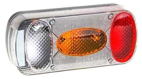 Koncové světlo sdružené pro přívěsy, pravé, MD-036 - tuning