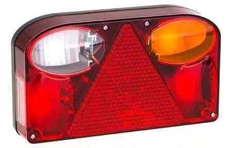Koncové světlo sdružené pro přívěsy, pravé, FT-088