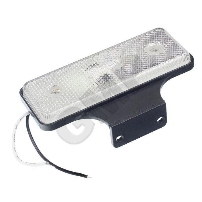 Poziční světlo LED pro přívěsy bílé 12/24V