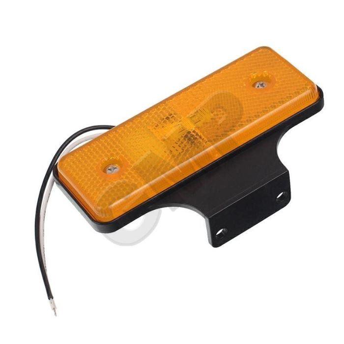 Poziční světlo LED pro přívěsy oranžové 12/24V