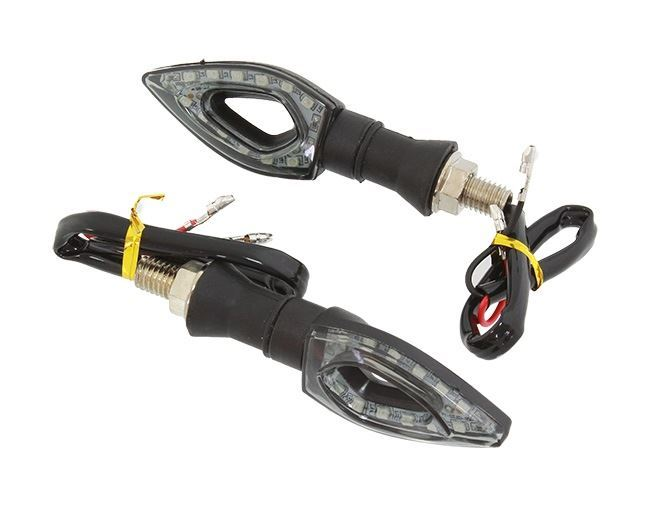 LED blinkry na motorku, 12V LED moto blinkry, pár