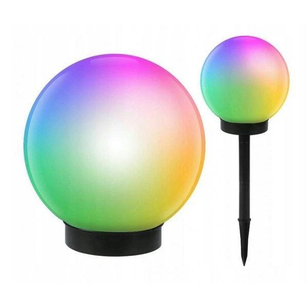 Solární zahradní zapichovací LED RGB svítidlio, 10cm