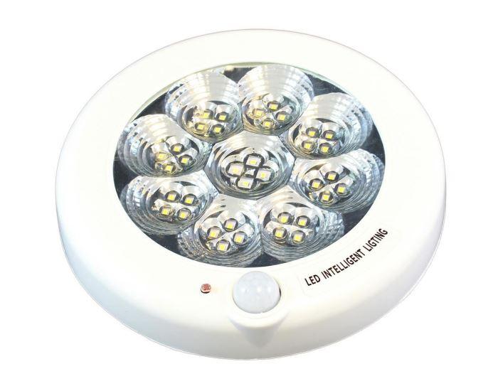 Svítidlo 36 LED 8W se senzorem, 230V