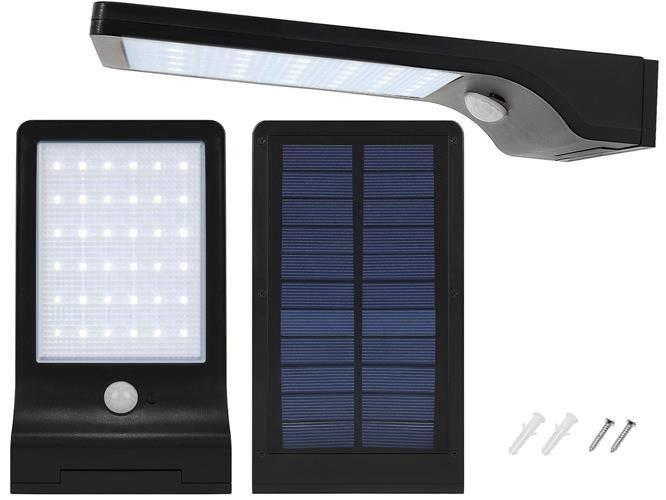 Solární venkovní 48 LED osvětlení s pohybovým senzorem