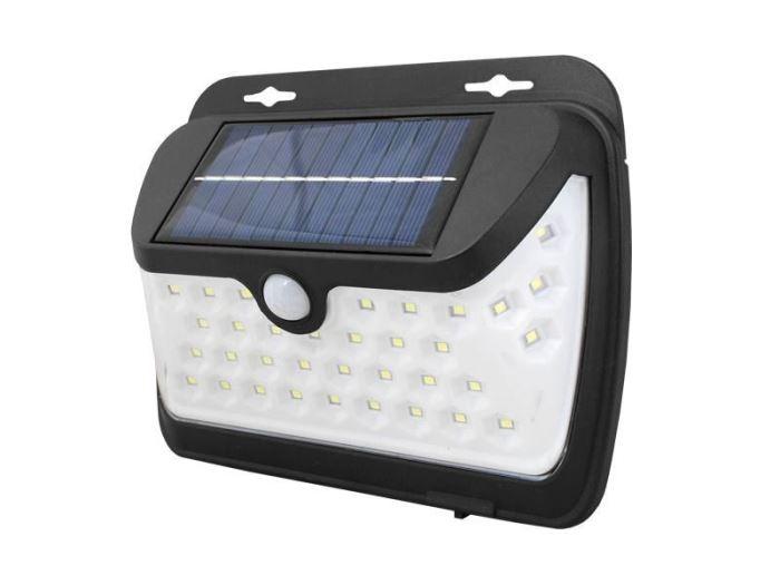 Solární nástěnné svítidlo s čidlem PIR, SOLAR LF