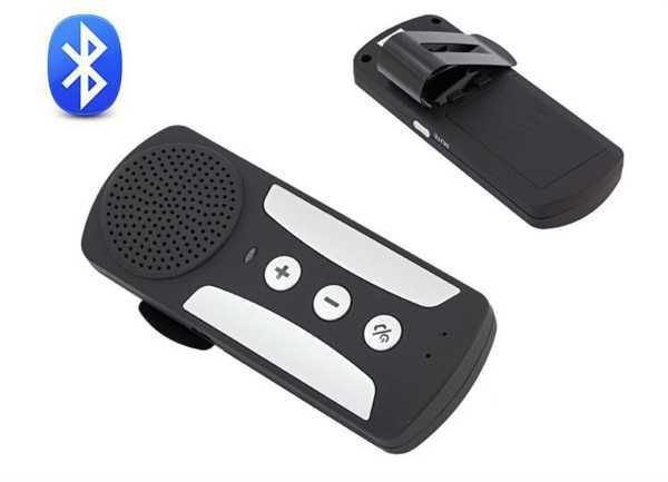 Bluetooth přijímač s reproduktorem na stínitko - handsfree AK271B