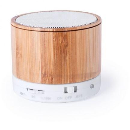 Bambusový bezdrátový reproduktor, rádio, bluetooth
