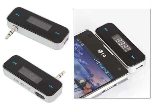 FM modulátor - transmitter s handsfree pro mobil OG37
