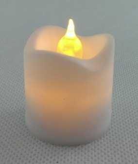 LED hřbitovní svíčka na hrob 4 x 3,5cm