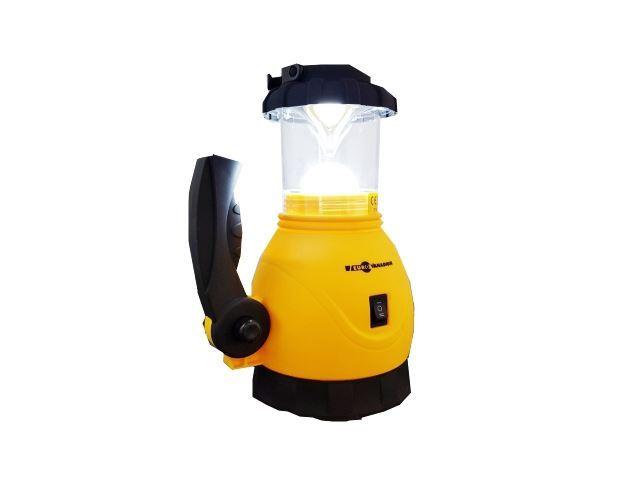 Svítidlo přenosné LED pro camping, napájení 3xR20