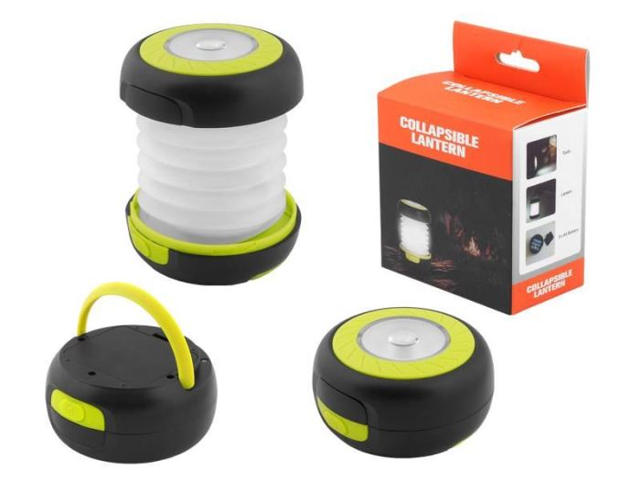 Svítidlo skládací LED pro camping, napájení 3x 1,5V AA