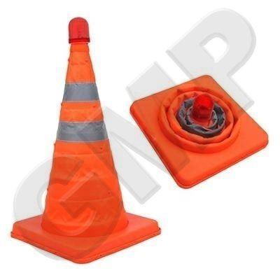 Oranžový výstražný kužel