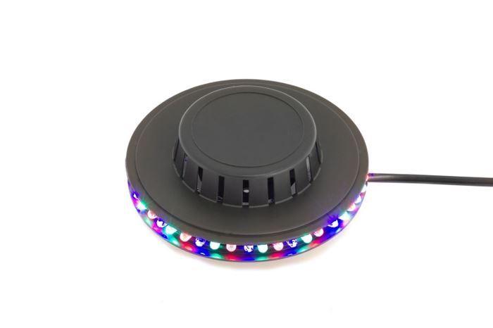 Disco LED světlo UFO, 48 LED