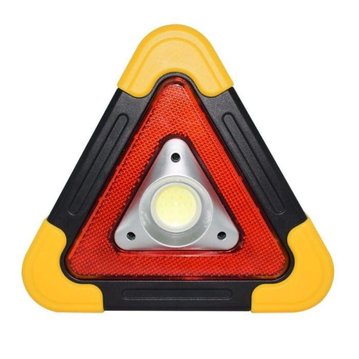 Multifunkční  svítící výstražný trojúhelník