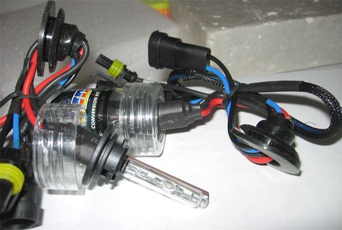 Výbojky xenon H9 5000K, 2ks