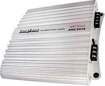 Autozesilovač ARG2075 2x75RMS/4ohm po opravě