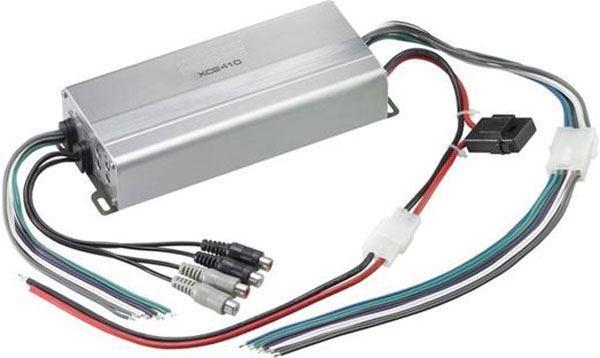 Autozesilovač XC2410 stereo 4x50W nebo 2x100W