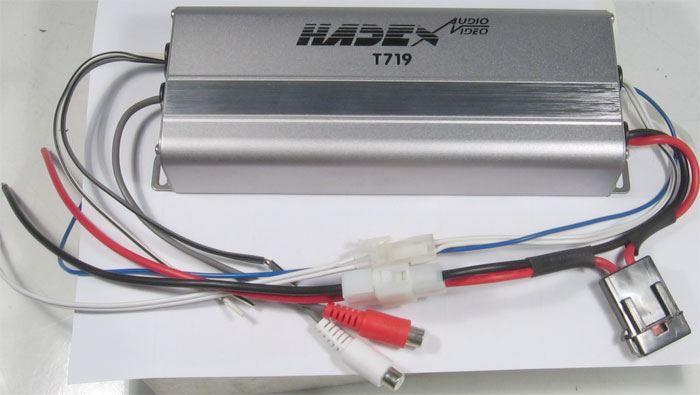 Autozesilovač XC2110 jednokanálový 200W