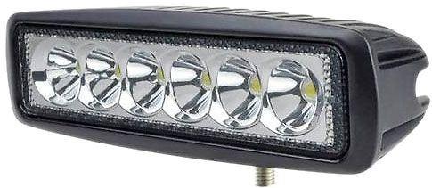 Pracovní světlo LED 10-30V/18W, bílá 6000K - fukční, chybí držák