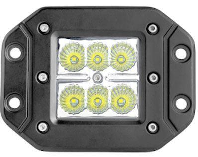Pracovní světlo LED 10-30V/18W k montáži do nárazníku