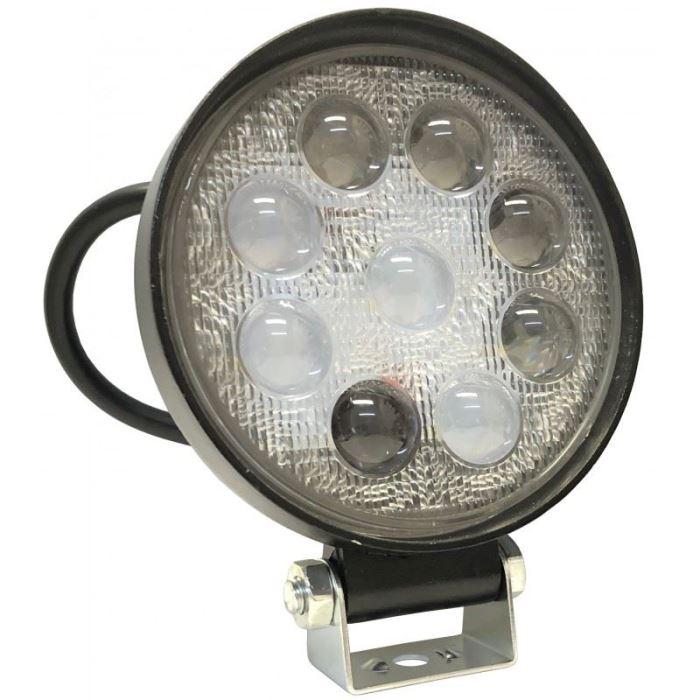 Pracovní světlo LED 12V/24V/24W, kulaté