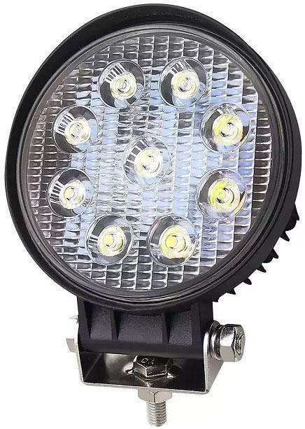 Pracovní světlo LED 10-30V/27W rozptylné, průměr 115x38mm