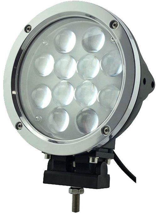 Pracovní světlo LED 10-30V/60W (12x5W) dálkové
