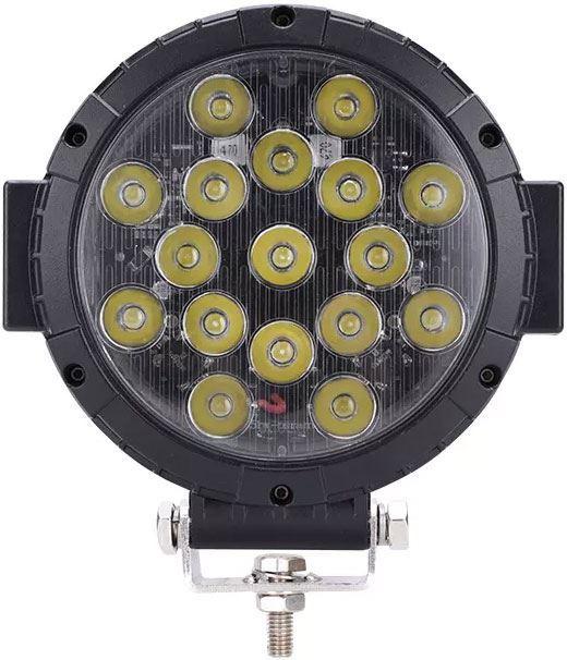 Pracovní světlo LED 10-30V/85W, dálkové, E mark