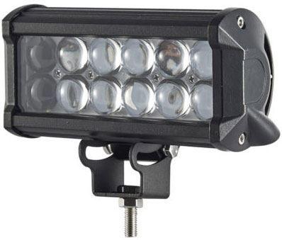 Pracovní světlo LED rampa 10-30V/36W l=16,7cm, dálková s čočkami