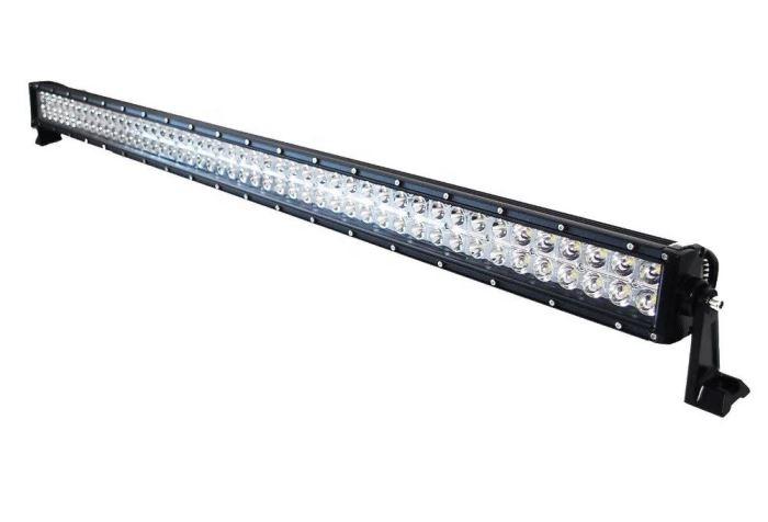 Pracovní světlo LED rampa 10-30V/288W, dálkové s čočkami, l=127cm